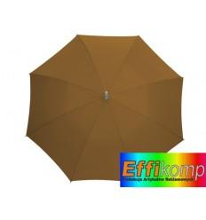 Parasol automatyczny, SECRET, brązowy.
