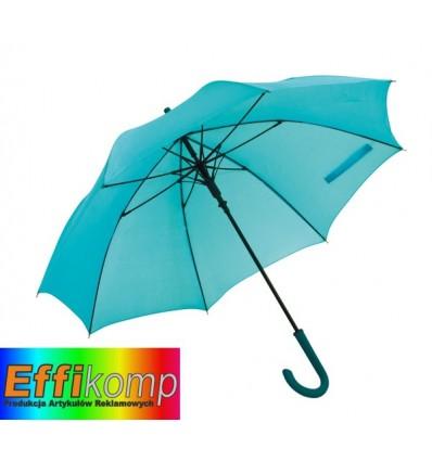 Parasol automatyczny, wodoodporny, LAMBARDA, turkusowy.