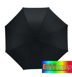 Parasol wiatroodporny, TORNADO, czarny.