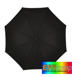 Parasol golf, SATELITE, czarny.