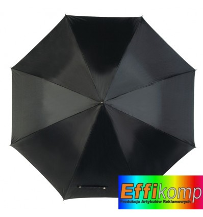 Parasol golf, WALKER, czarny.