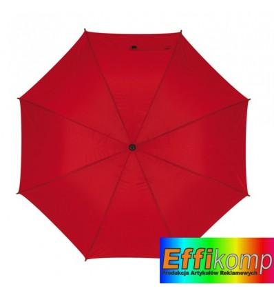 Parasol golf, MOBILE, czerwony.