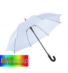 Parasol golf, wodoodporny, SUBWAY, biały.