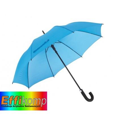 Parasol golf, wodoodporny, SUBWAY, błękitny.