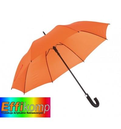 Parasol golf, wodoodporny, SUBWAY, pomarańczowy.