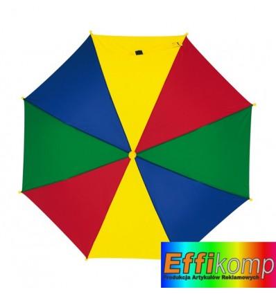 Parasol, dziecięcy, LOLLIPOP, wielokolorowy.