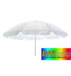 Parasol plażowy, SUNFLOWER, biały.