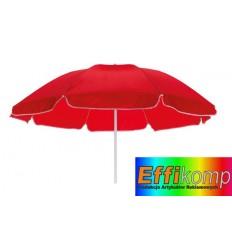 Parasol plażowy, SUNFLOWER, czerwony.