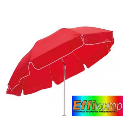 Parasol plażowy, ALOHA, czerwony.
