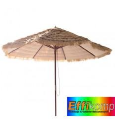 Parasol ogrodowy, HAWAII, brązowy.