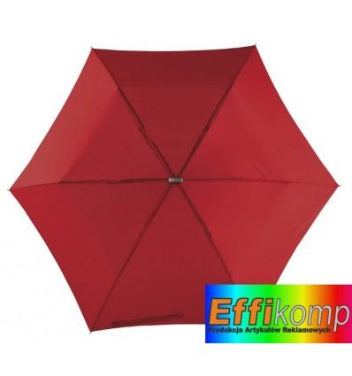 Parasol, FLAT, ciemnoczerwony.
