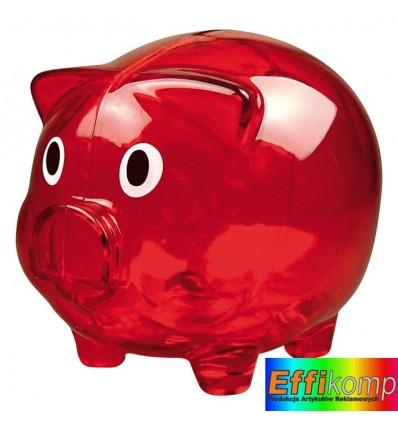 Świnka - skarbonka Leicester. Gadżet pod nadruki reklamowe.