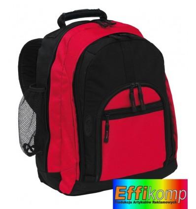 Plecak, NEW CLASSIC, czarny/czerwony.