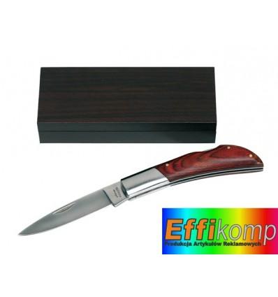 Nóż składany, SURVIVOR, brązowy/srebrny.